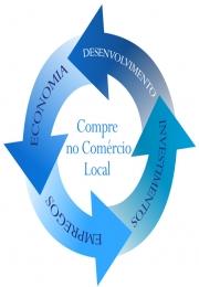 Campanha incentiva consumidor a comprar no comércio de bairro.